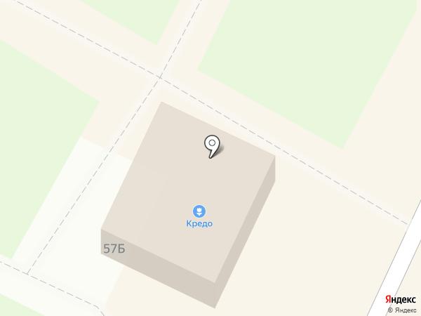 Кредо на карте Волжска