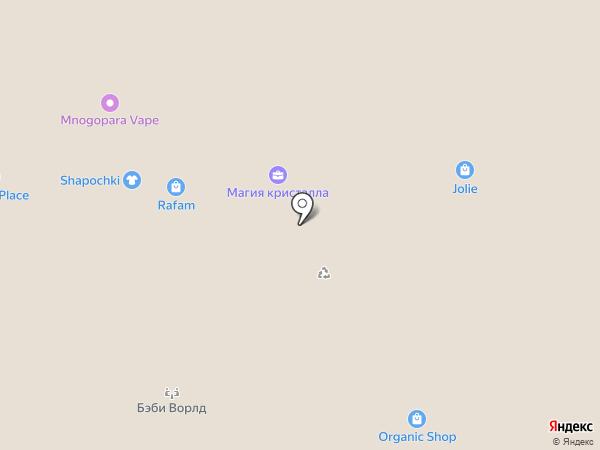 Jolie на карте Ульяновска