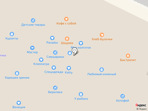 Вирт на карте Волжска