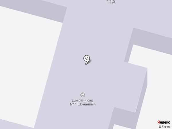 Детский сад №1, Шонанпыл на карте Помар
