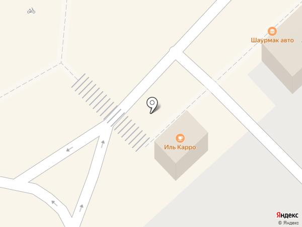 Каток у ТРЦ АКВАМОЛЛ на карте Ульяновска