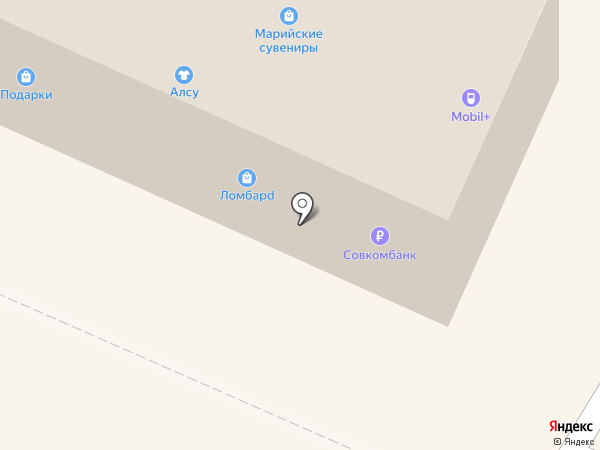 Mix на карте Волжска