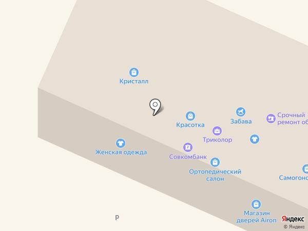Красотка на карте Волжска