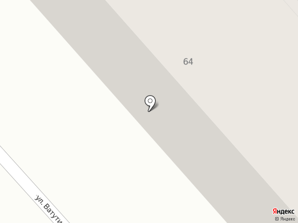 Заря, ЖСК на карте Ульяновска