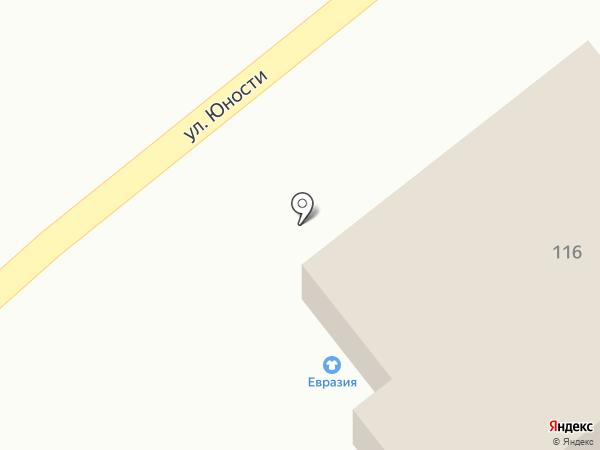 Индюшкин на карте Ульяновска