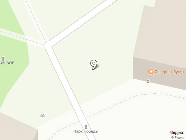 Бастион на карте Ульяновска