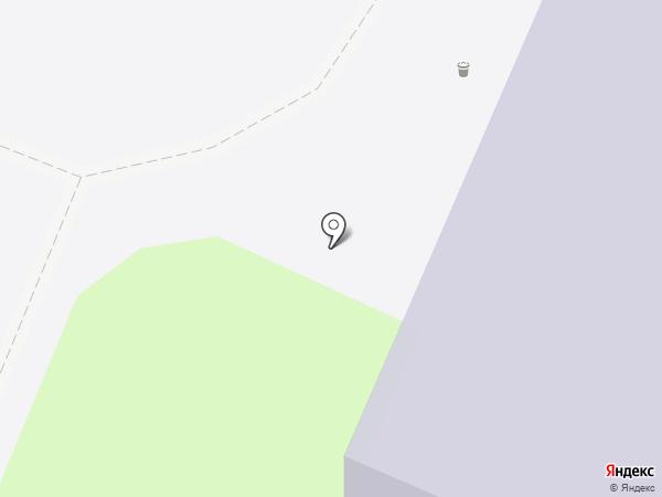 Скалодром УлГУ на карте Ульяновска