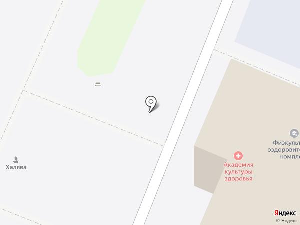 Физкультурно-оздоровительный комплекс на карте Ульяновска