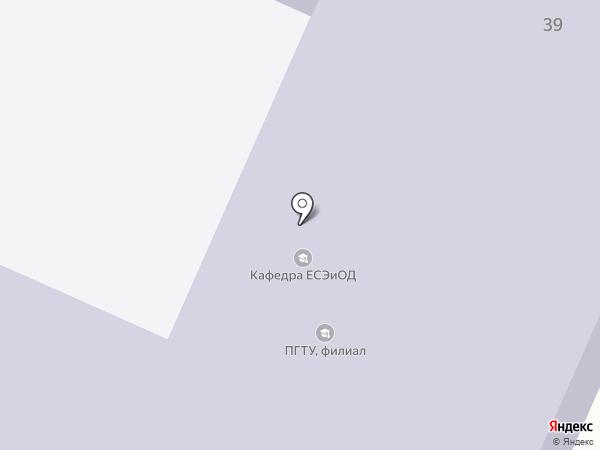 Поволжский государственный технологический университет на карте Волжска