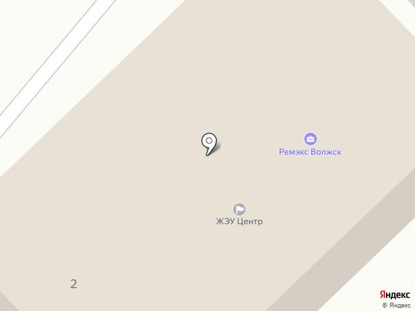 ЖЭУ Центр на карте Волжска