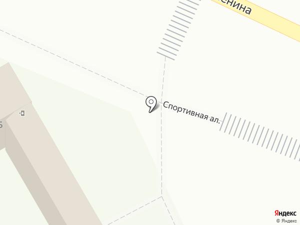 Киоск по продаже цветов на карте Волжска