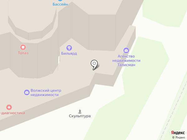 Информационный сайт на карте Волжска