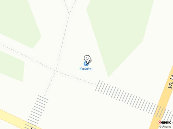 Айсберг на карте Волжска