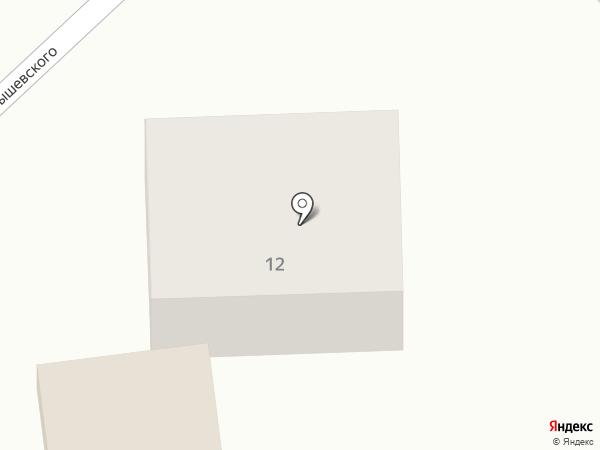 Магазин автозапчастей на карте Волжска