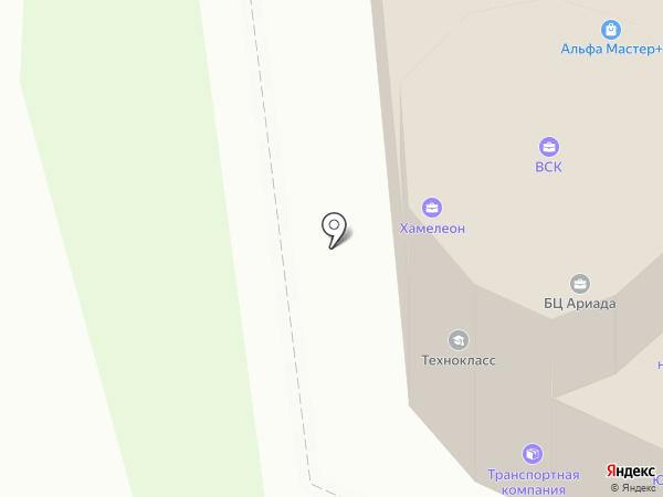 Поволжский торгово-логистический комплекс на карте Волжска