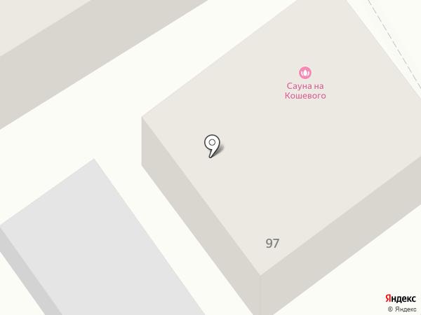 Сауна на карте Ульяновска
