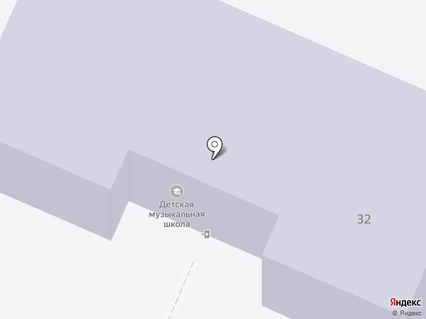 Детская музыкальная школа на карте Волжска