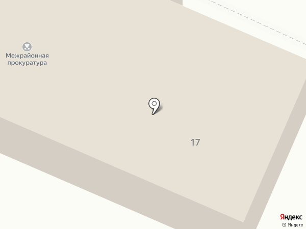 Волжская межрайонная прокуратура на карте Волжска