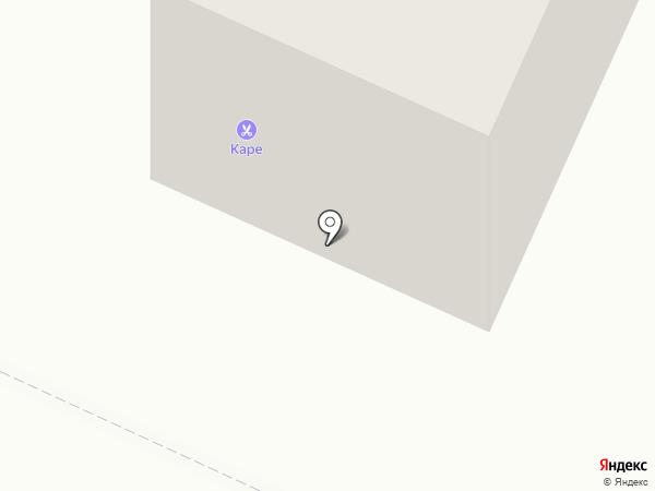 Кудри на карте Волжска