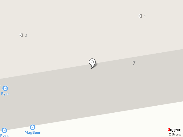 Двина на карте Ульяновска