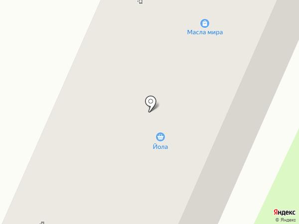 Грация на карте Волжска