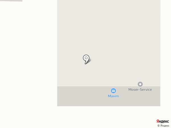 Поехали! на карте Ульяновска