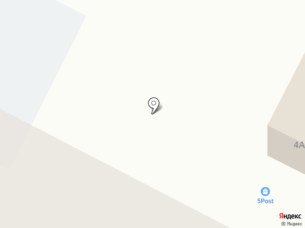 Бумеранг на карте Волжска