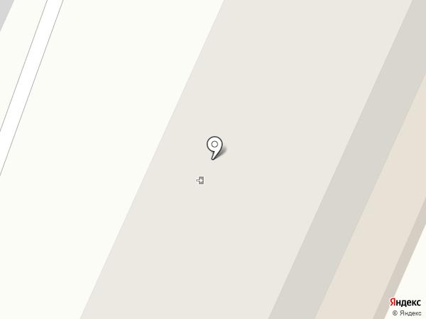 Белый квадрат на карте Волжска