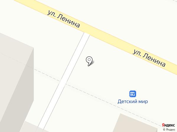 Киоск фастфудной продукции на карте Волжска