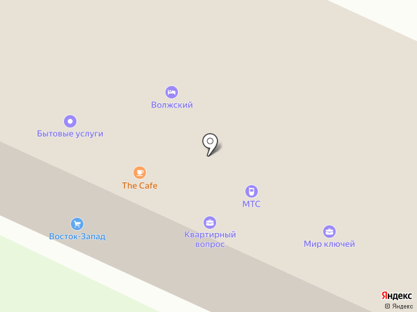 Апрель на карте Волжска