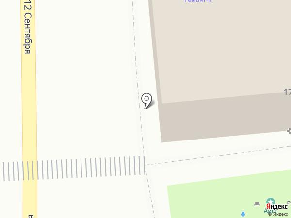 Мультивен-Авто на карте Ульяновска