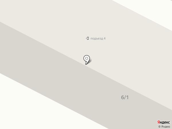 Звениговский на карте Волжска