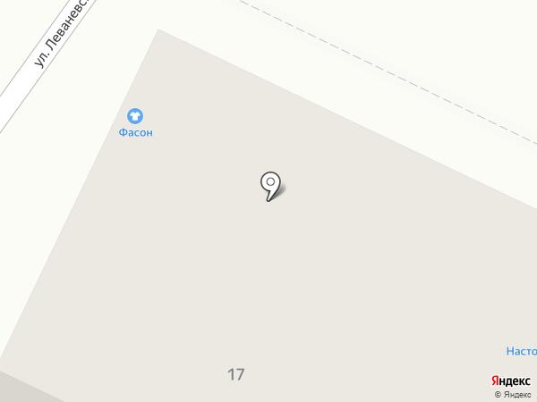 Фасон на карте Волжска