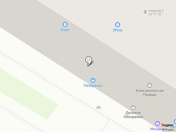 Мозаика на карте Ульяновска