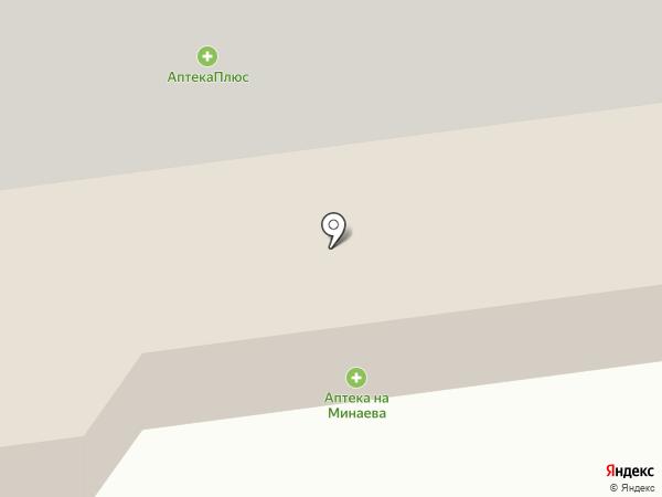 На Минаева на карте Ульяновска