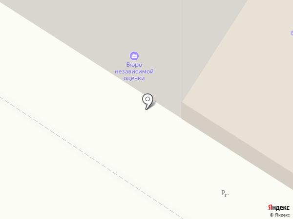 Деталь на карте Ульяновска