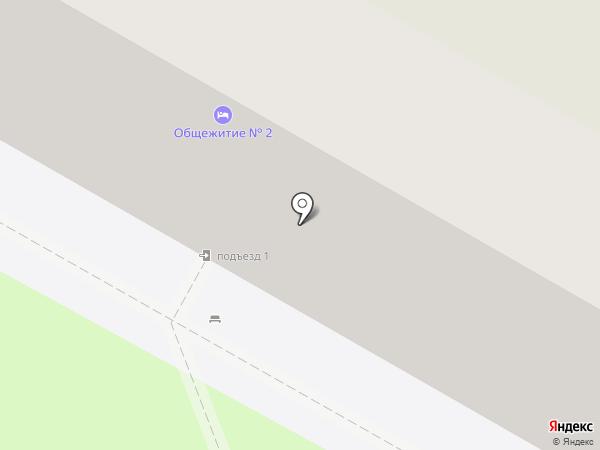 Пирамида на карте Ульяновска