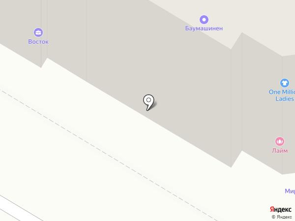 Норма на карте Ульяновска