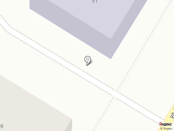 Ультрамарин, ЗАО на карте Ульяновска