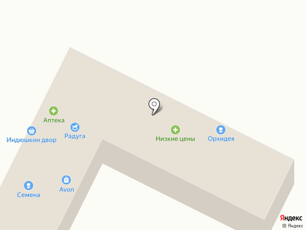 Теремок на карте Волжска
