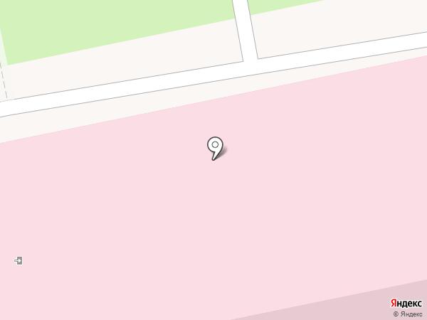 Детская городская клиническая больница №1 на карте Ульяновска