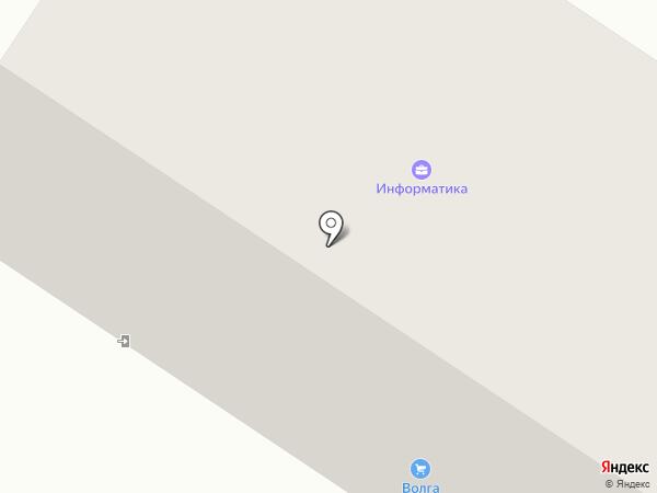 Волга Строй Путь на карте Волжска