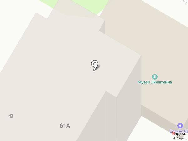Себастьян на карте Ульяновска