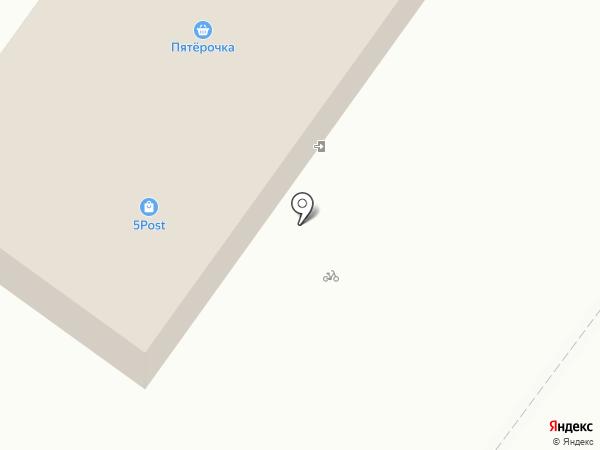Магазин товаров смешанного типа на карте Волжска