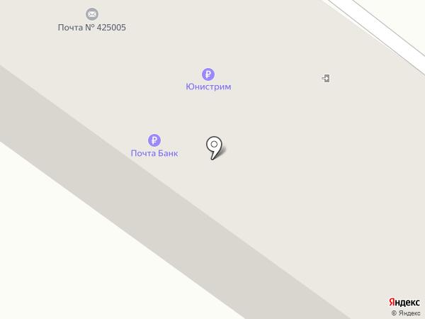 Почтовое отделение №5 на карте Волжска