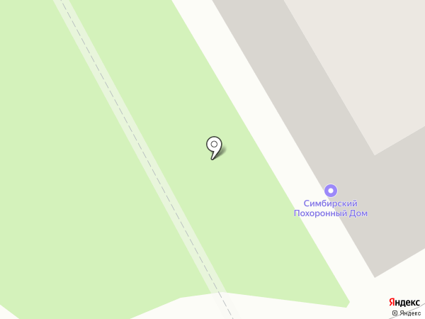 Инесса на карте Ульяновска