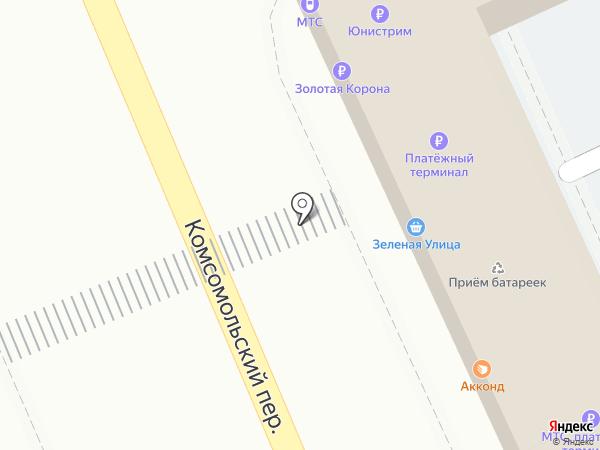 Дубки на карте Ульяновска