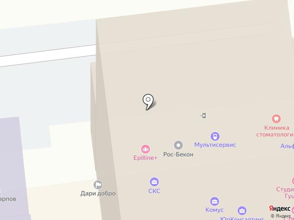 РОС-Бекон на карте Ульяновска