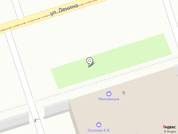 Роса Плюс на карте Ульяновска