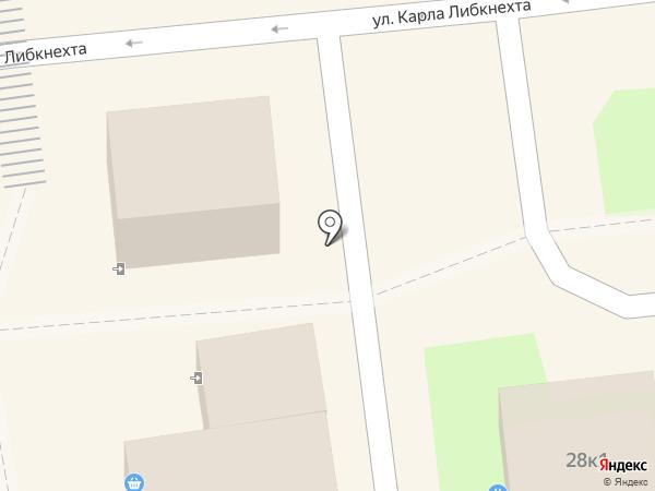 Киоск фастфудной продукции на карте Ульяновска